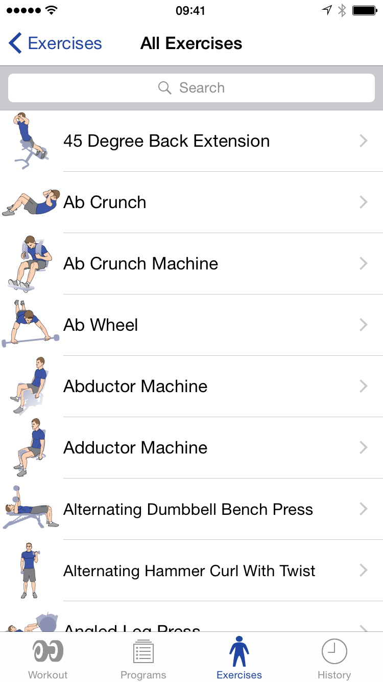 Home Reps Sets Supersets More Circuit Workouts Cardio Workout Gym Exercise Search