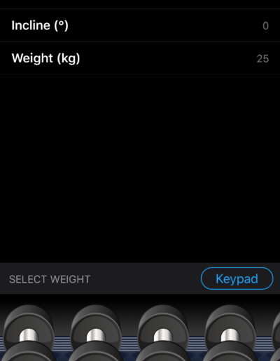 Weight Selector